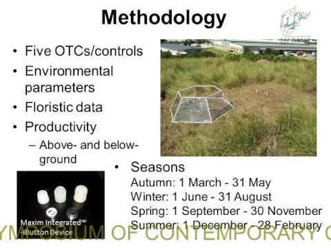 2014D1S4L3 Rowan Buhrmann Effects of simulated elevated temp. on KZN Sandstone Sourveld vegetation