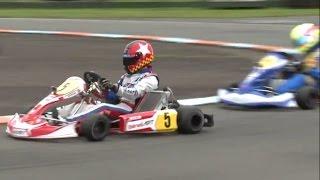 Super 1 Karting 2015: Rd 9, Shenington Part 8 KZ1 Race 2 | British Karting Championship Racing