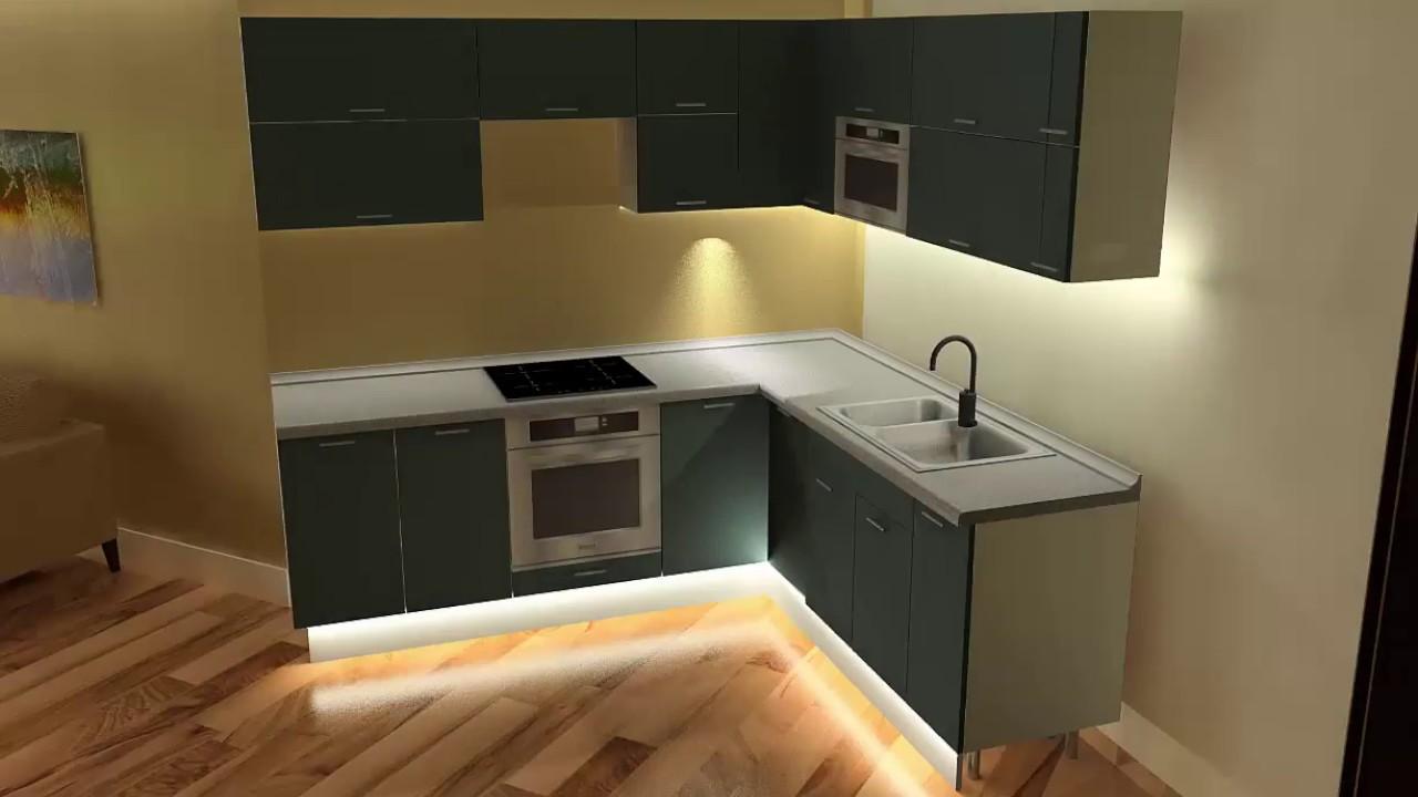 Großartig Küchendesign Mit Versteckter Speisekammer Bilder - Küche ...
