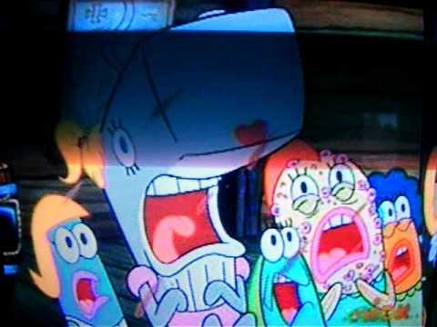 Spongebob At Pearls Sleepover Youtube