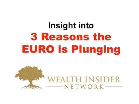 3 Reasons the EURO is Plunging Stock & Share Market Investing Market Made Easy
