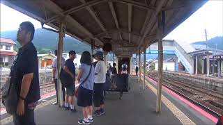 車いす道中記鳥取編 智頭駅乗り換え(678D→636D) 鳥取県八頭郡智頭町編
