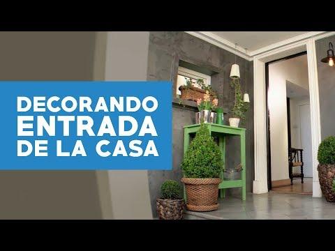¿Cómo decorar con plantas la entrada de la casa?