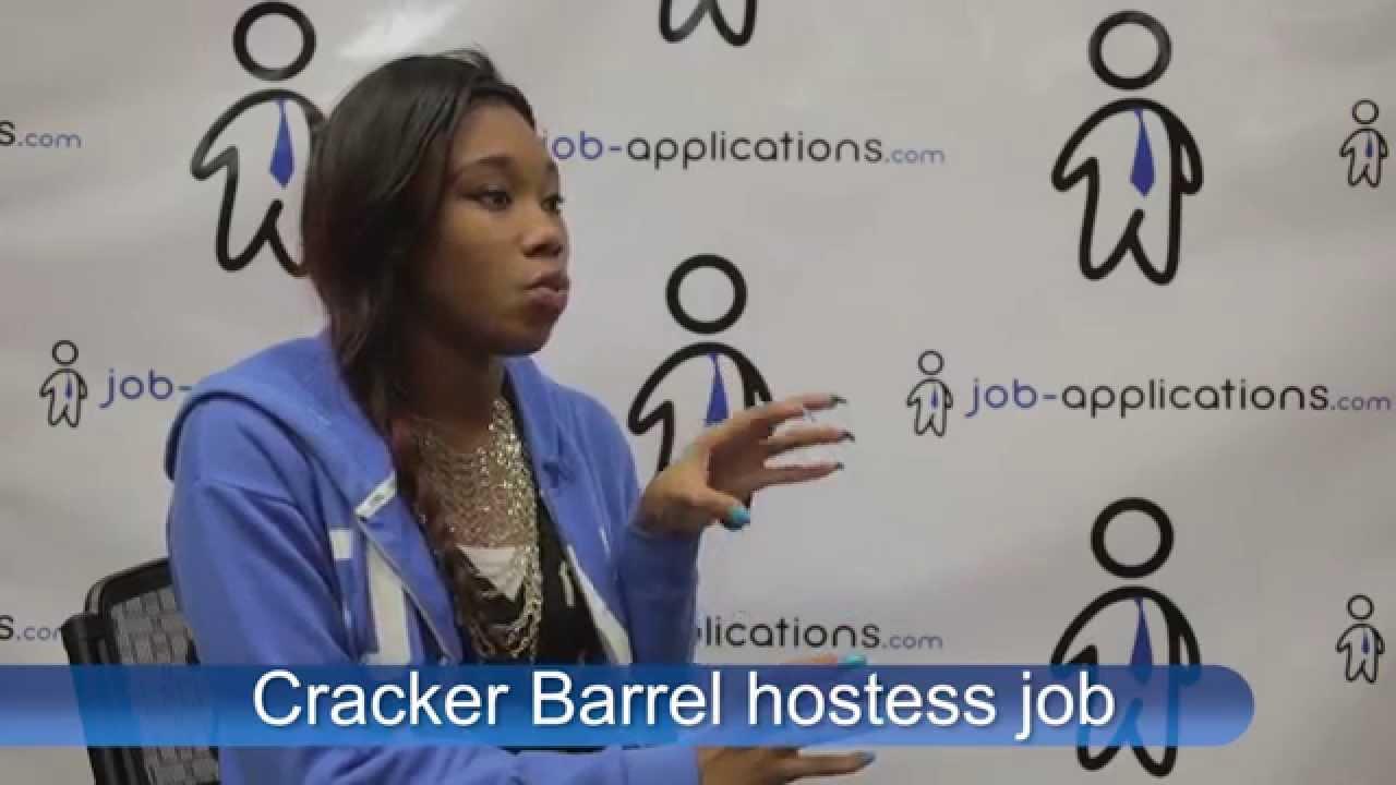 Cracker Barrel Interview - Hostess