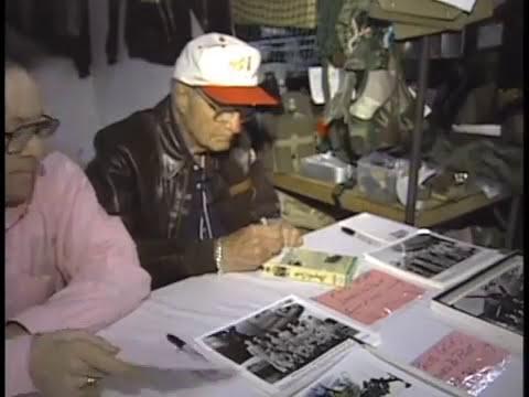 Colonel Robert Morgan Of The Memphis Belle Visits Tokyo