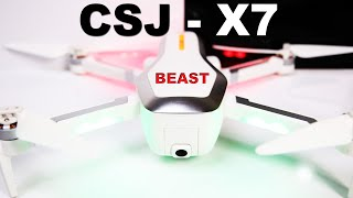 CSJ X7 GPS Camera Drone - Is it a BEAST? - A Very Popular full featured drone