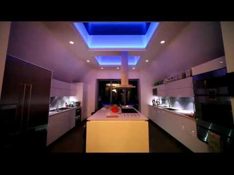 Led Rgb 5050 Techo Cocina Moderna Teknodenda Youtube