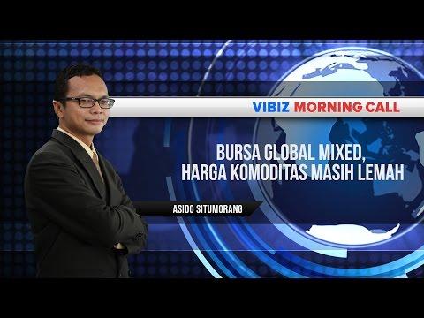 Bursa Global Mixed, Harga Komoditas Masih Lemah, Vibiznews 31 Juli 2015
