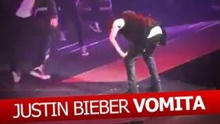 Justin Bieber Vomita en Escenario!