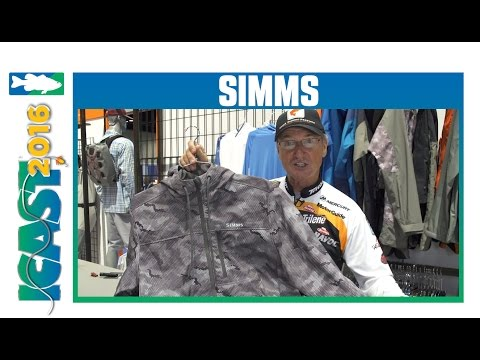 Simms Rogue Fleece Hoody With Elite Series Pro Gary Klein | ICAST 2016