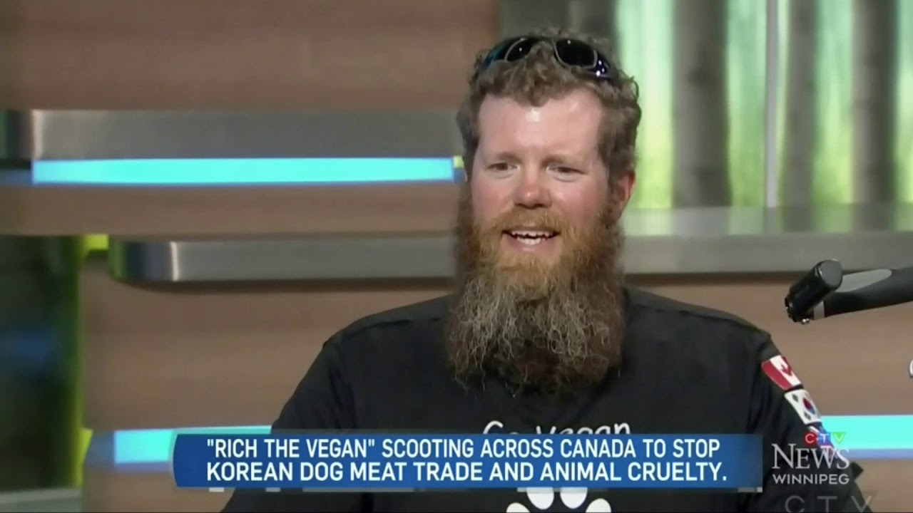 Rich The Vegan: CTV News Winnipeg