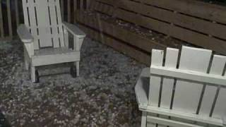 Hail storm in Crookston, Minnesota, Produced by: http://BuzzIt.TV