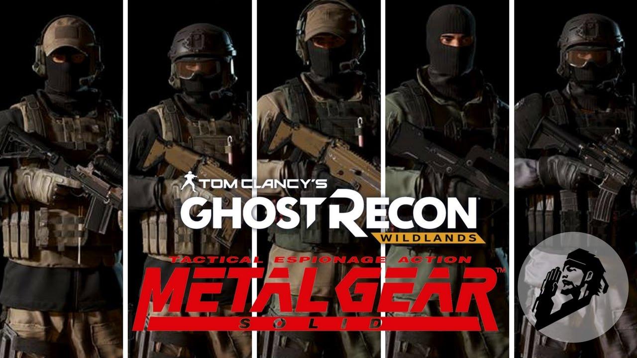 ghost recon wildlands metal gear solid special 6k subs