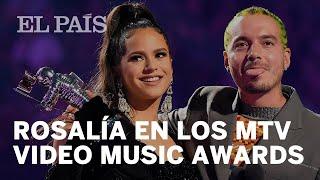 ROSALÍA, la primera ARTISTA española en ganar un PREMIO MTV MUSIC AWARD