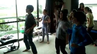 Kids dancing to wii on Sams birthday Thumbnail