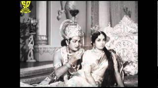 o cheli kopama|| Songs ||Srikrishna Tulabharam | NTR | Krishna Kumari