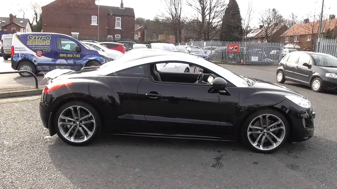 peugeot rcz 1 6 thp gt 200 2dr u15956 youtube. Black Bedroom Furniture Sets. Home Design Ideas