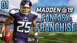 FANTASY DRAFT FRANCHISE! - Madden 19 Franchise Mode Gameplay   Ep.1