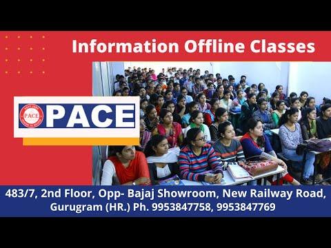 Information About Offline Classes || @ PACE Academy Gurugram