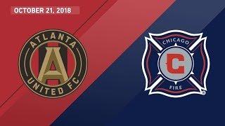 HIGHLIGHTS: Atlanta United FC vs. Chicago Fire | October 21, 2018