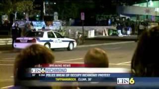 Police In Richmond Virginia use Bulldozers to Break up Occupy Richmond