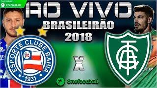 Bahia 1x0 América-MG | Brasileirão 2018 | Parciais Cartola FC | 18ª Rodada | 11/08/2018
