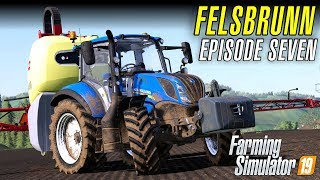 A CONTRACT WITH OUR TRACTOR & FENDT | Let's Play Farming Simulator 19 | Episode 7