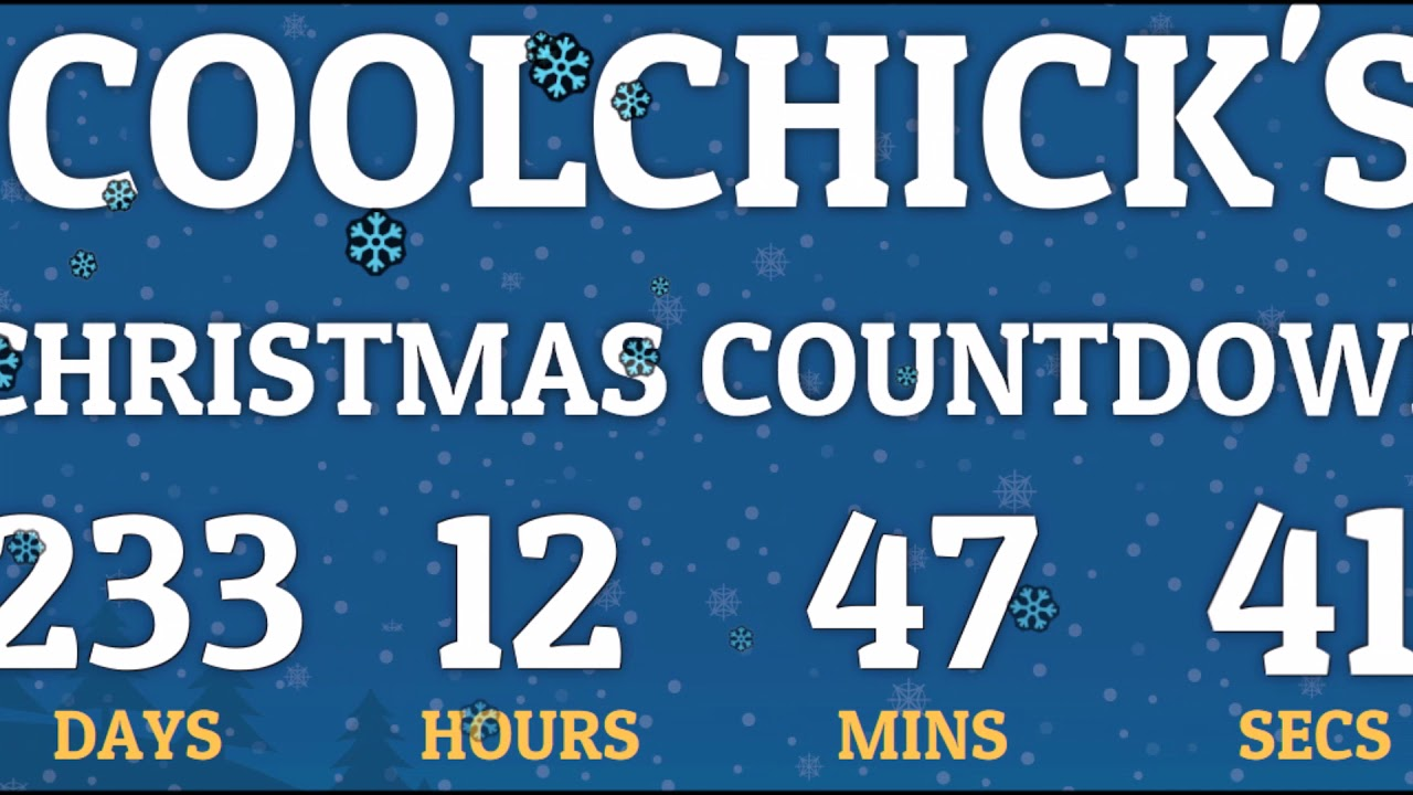 How Long Until Christmas.How Many Days Until Christmas 2018