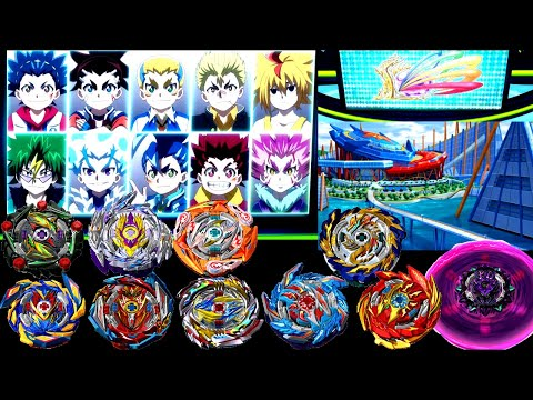 FULL LEGEND FESTIVAL Anime Real Life Beyblade Burst Sparking Episode 21-31 Battle Royaleベイブレードバースト超王