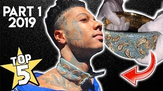 Top 5 Rapper Chains 2019 (Part 1) | Blueface, DaBaby, NLE Choppa