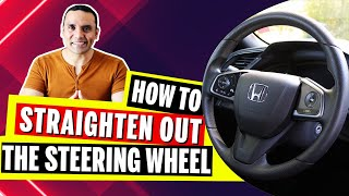 New Driver Tips - H๐w to STRAIGHTEN out the STEERING WHEEL || Toronto Drivers