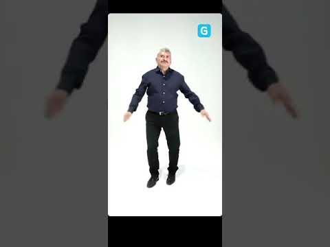Lobo Vázquez da clases de baile