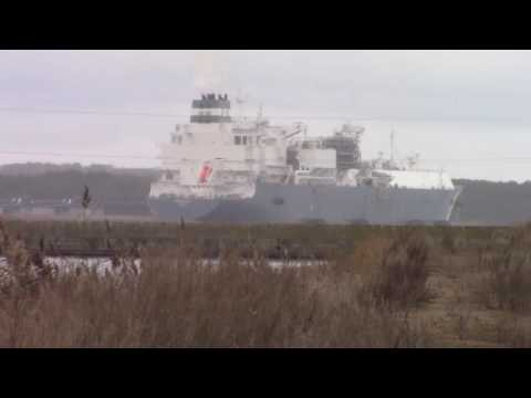 SHIP LITHUANIAN INDEPENDENCE: Baltic gas independence from Russia 1