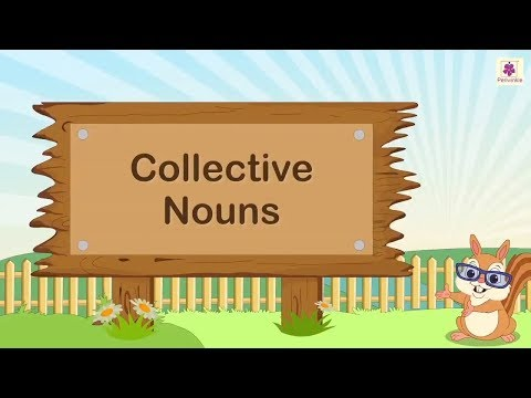 Collective Nouns | English Grammar | Periwinkle