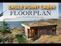 The Eagle Point Cabin Floor Plan