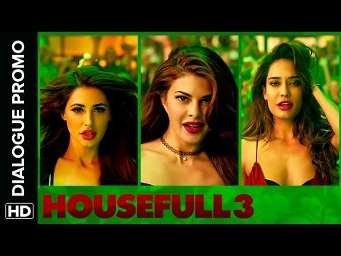 Jacqueline, Nargis & Lisa Have A Hindi Problem | Housefull 3 | Dialogue Promo