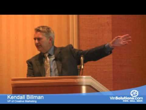 Kendall Billman | VinSolutions | Digital Dealer 11 | What is Your Website Hiding?