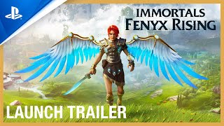 Immortals Fenyx Rising - Launch Trailer | PS5, PS4