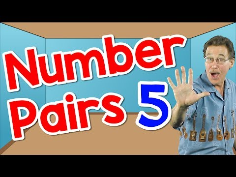 I Can Say My Number Pairs 5 | Math Song for Kids | Number Bonds | Jack Hartmann