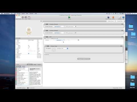 Platformer Tutorial for GameSalad Creator 003 - Player animation / separate player image