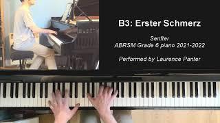 B:3 Erster Schmerz (ABRSM Grade 6 piano 2021-2022) Special cat edition