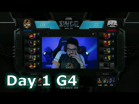 Lyon Gaming vs INTZ e-Sports | S6 Worlds 2016 International Wildcard Qualifiers Day 1 | LYN vs ITZ