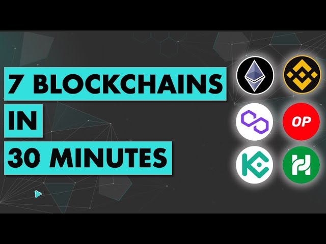 I deployed a smart contract to 7 Blockchains