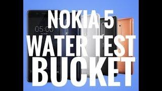 Nokia 5 water Test | Bucket test | Nokia mobiles | New handset