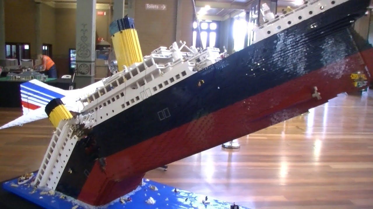 MOCs At Brickvention Australias Largest Lego Exhibition - Biggest lego ship