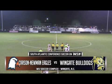 NCAA Division II Men's Soccer - Carson-Newman at Wingate