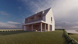 Aleš Makový Architects © - pasivní rodinný dům v Zubří