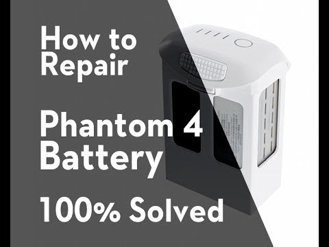How To Fix and Repair Phantom 4 Battery No Light Problem, solved battery phantom 4 by Olenk