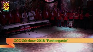 GCC Gützkow 2018 Funkengarde