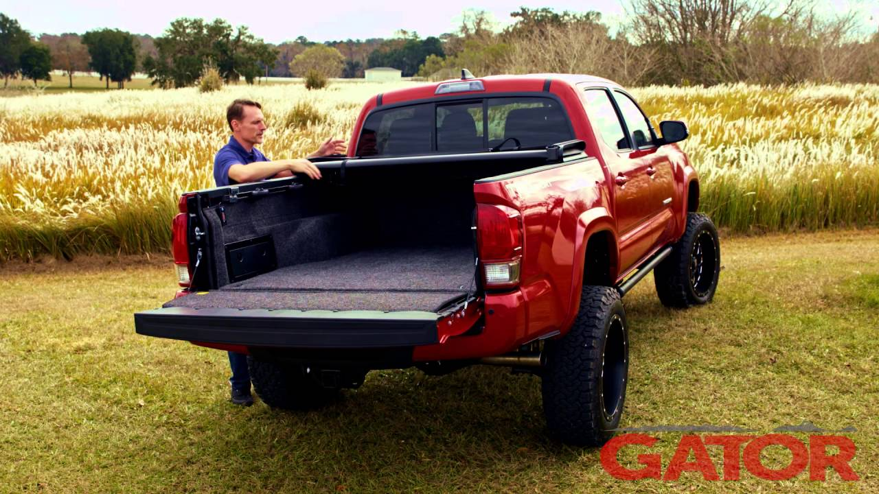 Gator Tri Fold Soft Folding Tonneau Cover Review Gatorcovers Com Youtube